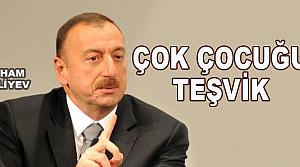 Aliyev'den 5 çocuklu aileye vergi muafiyeti