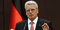 Alman cumhurbaşkanı Gauck soykırım dedi