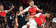 Arsenal, Bayern Münih karşısında 2-0 kazandı