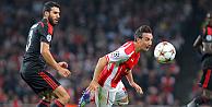 Arsenal, Beşiktaşı 1-0 yenerek Devler Liginden attı