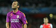 Arsenal, Galatasarayı Londradan 4-1le gönderdi