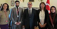 ATHPAdan Büyükelçi Bilgiçe ziyaret