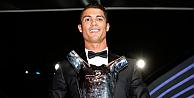 Avrupa'da yılın futbolcusu Ronaldo