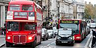 Avrupanın en yoğun trafiği Londrada