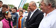 Bakan Mevlüt Çavuşoğlu Londra Anadolu Kültür Festivalinde