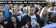 Barekov, oy toplamak için sınırda şov yaptı