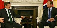 Başbakan Davutoğlu, Cameron ile görüştü