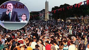 Başbakan Erdoğan'ın iftar sürprizi