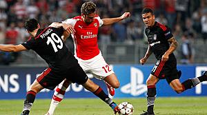 Beşiktaş, Şampiyonlar Liginde umudunu Londraya bıraktı