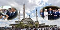 Beştepe Millet Camisi dualarla ibadete açıldı
