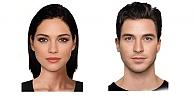 Bilim adamları en güzel kadın ve erkek yüzünü belirledi
