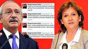 Kılıçdaroğlu'na, Birgül Ayman Güler'den tepki