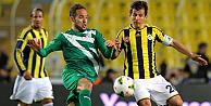 Bursaspor 1-0 yenen Fenerbahçe Süper Ligin lideri