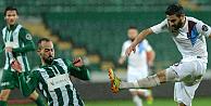 Bursaspor-Trabzonspor gol düellosunda kazanan çıkmadı