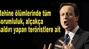 Cameron, Cezayir yönetimine toz kondurmadı