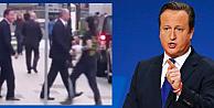 Cameron'a saldırı korkusu korumaları alarma geçirdi