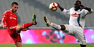 Çaykur Rize, Beşiktaşı Olimpiyatta tek golle geçti