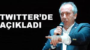 CHP Grup Başkanvekili İnce istifa ediyor