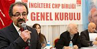 CHP İngiltere Başkanlığına Hasan Dikme seçildi