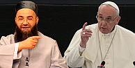 Cübbeli Ahmet Hoca, Papayı İslamiyete davet etti