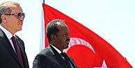 Cumhurbaşkanı Erdoğana Somalide sürpriz karşılama!