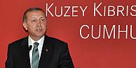 Cumhurbaşkanı Erdoğan Kıbrıstan mesaj verdi