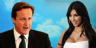 David Cameron, Kim Kardashian ile akraba çıktı