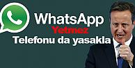 David Cameron WhatsApp'ı yasaklayacak!