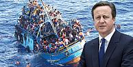 Cameron'dan batan mülteci teknesi için 'kara gün' benzetmesi