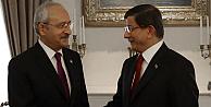 Davutoğlu ile Kılıçdaroğlu koalisyon için biraraya geldi