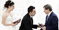 Davutoğlu, Musul Başkonsolosluk görevlisinin nikahında