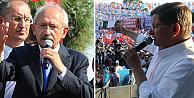Davutoğlu ve Kılıçdaroğlu'ndan Diyarbakır açıklaması