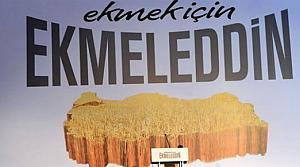 Ekmek için Ekmeleddin'i seçin!