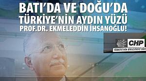 Ekmel İhsanoğlu afişinde CHP var, MHP yok!