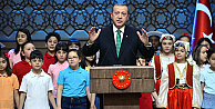 Erdoğan, Çocuklara kıymayın efendiler diye seslendi