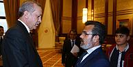 Erdoğan, Özgecan Aslanın ailesini kabul etti