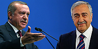 Erdoğan'dan, Akıncı'ya 'Anavatan' dersi!