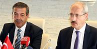 Ertuğruloğlundan Ankarada yoğun temas