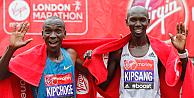 Favori atletler Londra Maratonunda geride kaldı