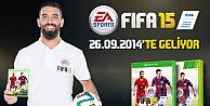 FIFA 15in kapağında Arda Turan olacak