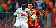 Galatasaray, Gaziantepspora 1 attı, 3 aldı, zirveye çıktı