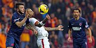 Galatasaray, Mersin İdmanyurdunu 3-2 ile geçti