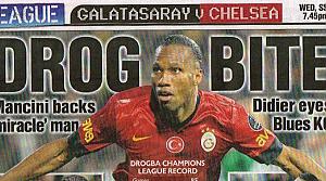 Galatasaray'ın ünlüleri İngiliz gazetelerinde