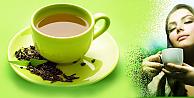 Genç kalmak için yeşil çay tavsiyesi