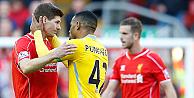 Gerrard'ın son kez forma giydiği maçta takımı yenildi