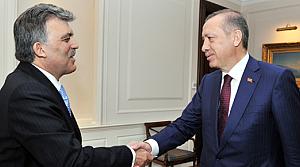 Gül'den Erdoğan ve Çiçek'e veda ziyareti