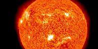 Güneşteki patlamaların görüntüleri yayımlandı