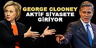 George Clooney, Hillary Clintona rakip