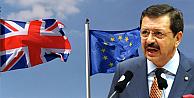 Hisarcıklıoğlundan, İngiltereye AB uyarısı