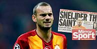 İngiliz Daily Mirrordan, Saint Sneijder manşeti